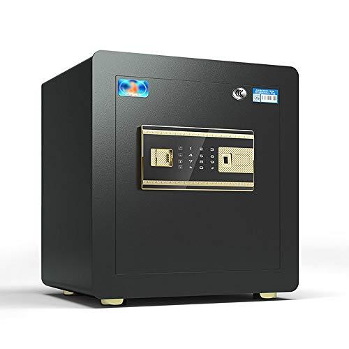 XHMCDZ Caja Fuerte, Cajas Fuertes y Cajas de Seguridad, Caja de Dinero, Cajas de Seguridad for el hogar, Caja de Seguridad Digital, Acero de aleación Gota Segura (Color : Black)