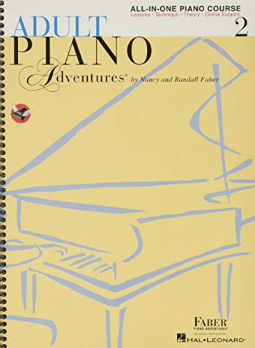 Adult Piano Adventures: All-in-One Lesson Book 2: Spiral Bound