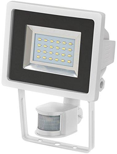 Brennenstuhl SMD-LED-Leuchte / LED Strahler mit Bewegungsmelder (Außenstrahler zur Wandmontage IP44, LED Fluter mit 24 hellen SMD-LEDs)