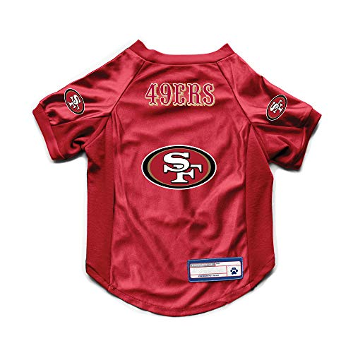 Littlearth NFL San Francisco 49ers Pet Stretch Jersey, X-Large