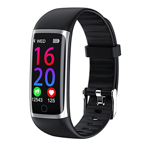 VBF Pulsera Inteligente, Pantalla De Color 3D M9, Temperatura Corporal En Tiempo Real, Reloj De Fitness Smart Fitness Watch para Android iOS,B