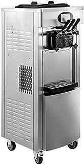 VEVOR Machine à Crème Glacée Verticale Professionnel Sorbetière à Glace Commerciale Ice Cream Machine pour Restaurants, Ca...