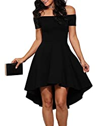 Women's Off The Shoulder Skater Dress