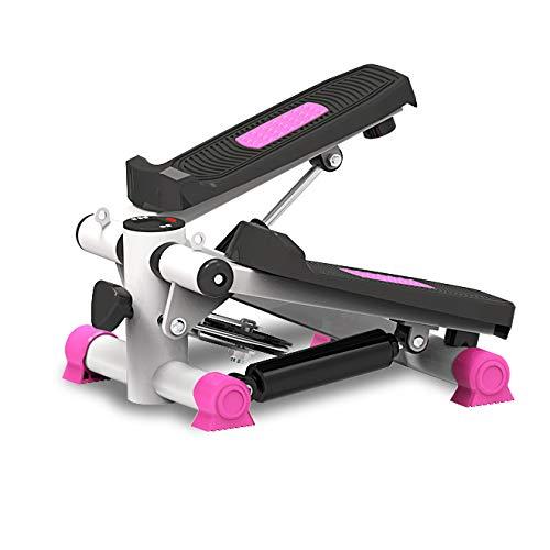LXLTLB Multifunktionsstepper, Heimstepper, Mini-Stepper, Fitnessgeräte zur Gewichtsreduktion, Maschine mit dünner Taille, elliptisches Laufband mit LED-Bildschirm