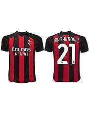 Maglia Ibrahimovic Milan 2021 Ufficiale 2020-2021 Adulto Ragazzo Bambino Ibra Zlatan 21
