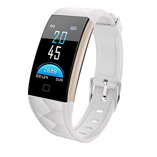 YANGSANJIN Color Screen Fitness Tracker met hartslagmeter voor vrouwen, mannen en kinderen, waterdichte activiteitentracker met stappenteller en slaapmonitor