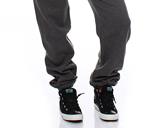 Hoppe Damen Jumpsuit Jogger Einteiler Jogging Anzug Trainingsanzug Overall (Grau) - 6