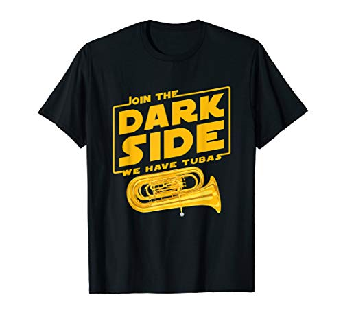 Join The Dark Side Tuba Player T-shirt