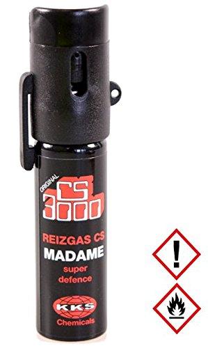 Security-Discount Germany - CS-Reizgas Lady, sehr handlich, Ideal für die Handtasche - 18 ml