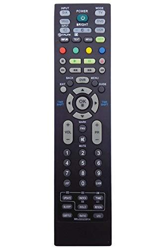 VINABTY MKJ32022814 Mando a Distancia de Repuesto para LG 50PT85 50PS8000 50PC56-ZD 47LF65 42PT85-ZB 42PT85 42LT75-ZA 42LT75 42LF65-ZC 42LC55-ZA 26LC55-ZA 26LC46-ZC 26LC45-ZA 26LB76-ZF 26LB75-ZE TV