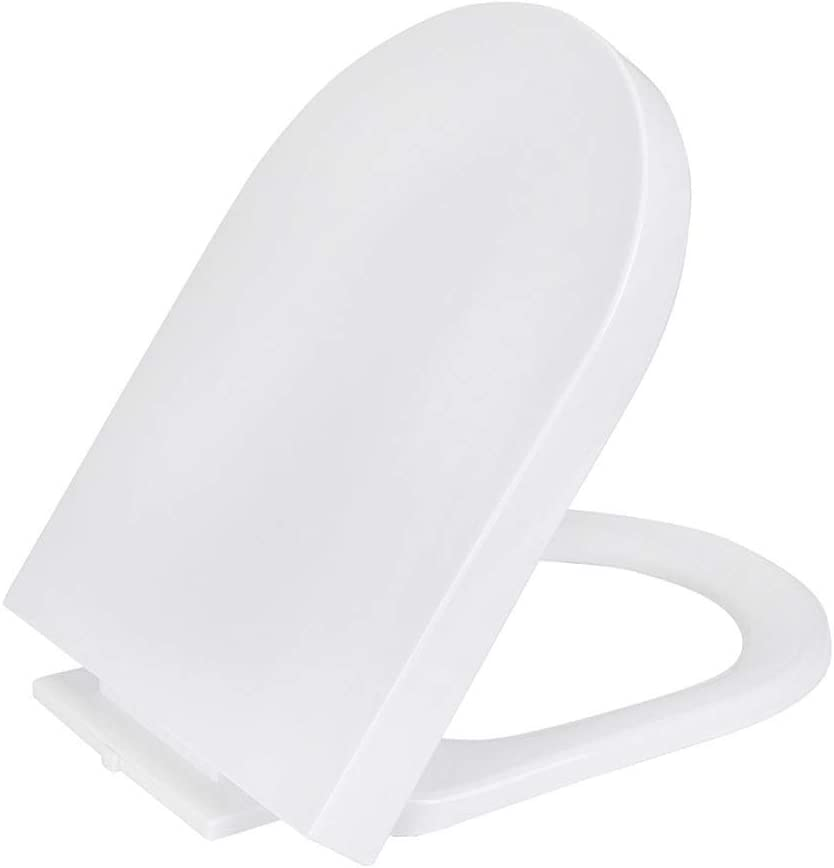 HTDZDX U Type Toilet Seats Plate safety San Antonio Mall Slow-Close Silent Cover