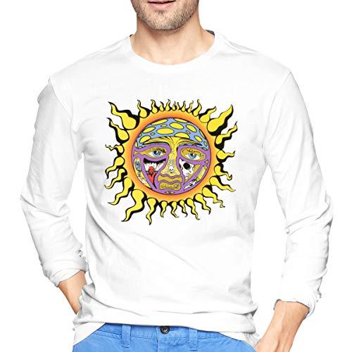 JANGUEP Sublime 40oz to Freedom Men's Long Sleeve Cotton Jersey Shirt White