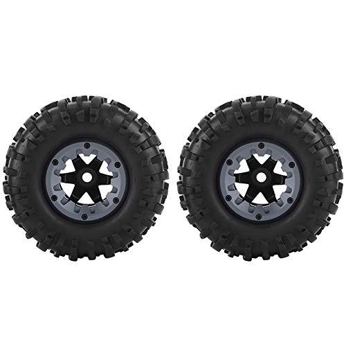 1//24 RC Auto Gummireifen Rallye Reifen mit RC Felgen Naben Werkzeuge für
