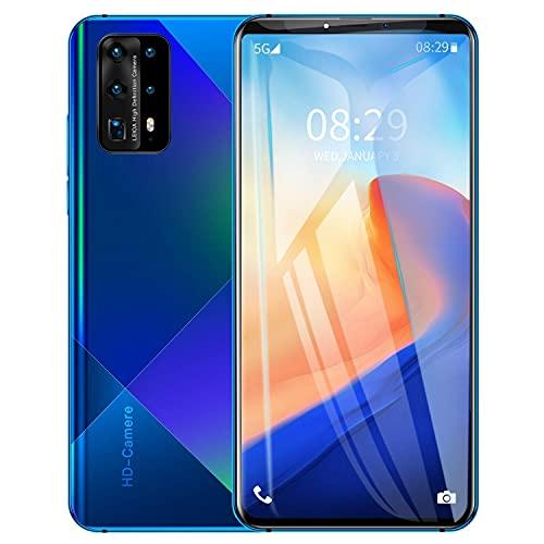 Útil Conveniente y fácil de usar Teléfono inteligente de 6,3 pulgadas Explosión de pantalla grande de 6.3 pulgadas Teléfono Android Dar un regalo ( Color : Purple , Size : Australian regulations )