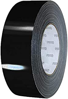 VViViD Black Gloss Air-Release Adhesive Vinyl Tape Roll (4 Inch x 20ft)