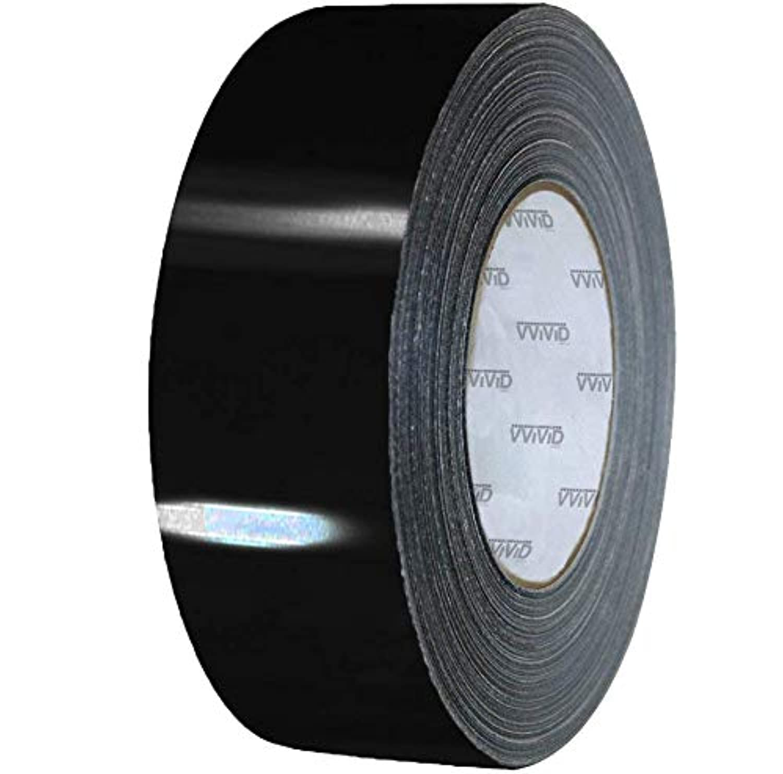 VViViD Black Gloss Air-Release Adhesive Vinyl Tape Roll (4