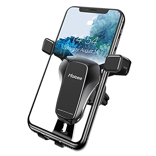 Car Phone Mount, Upgraded Gravity Phone Holders Universal for Car Vent, 360 Degree Adjustable Stable Phone Cradle Mount, Compatible with Most 4.7-7 inch Mobile Phone Devices