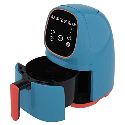 speoww Freidora de Aire, Interior Antiadherente Antiadherente de asado Inteligente pequeño para el hogar, sin Aceite y bajo en Grasa, fácil Limpieza y Control de Temperatura Ajustable (Color: Rosa)