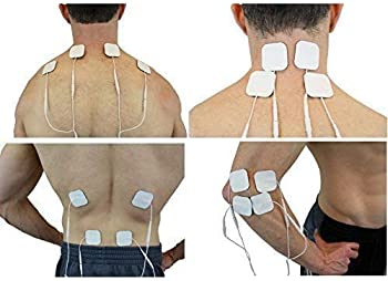 FDA cleared OTC HealthmateForever YK15AB TENS unit with 4 outputs, apply 8 pads at the same time, 15 modes Handheld E...