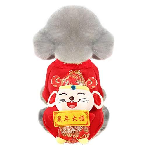 Lente en zomer T-shirts Chinese stijl 3D mantel kleding hondenmantel kleding huisdier kat hond sweater dagelijks wandeling kostuum voor foto