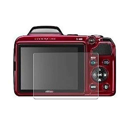 Vaxson 3 Stück Schutzfolie, kompatibel mit Nikon Coolpix L810, Displayschutzfolie TPU Folie [ nicht Panzerglas ]