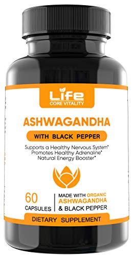 Ashwagandha Capsules by Lifecore Vitality review