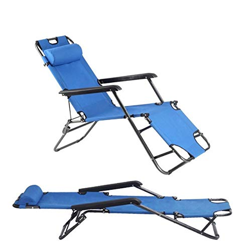 ZFLL Klaptafels en stoelen -niqueEenvoudige Moderne draagbare inklapbare ligstoelen enkele slaapbank kantoor lunch dutje vrijetijdsbed comfortabele ligstoel