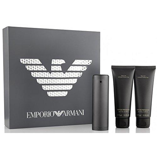 Emporio Armani - Emporio He Geschenk Set 50ml Eau De Toilette + 2 x 75ml Duschgel