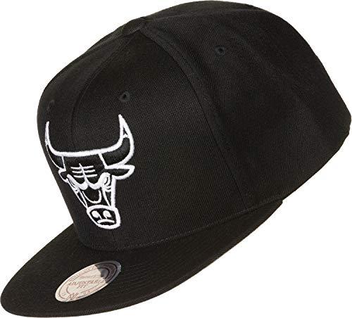 Mitchell & Ness Cap 6HSSMM18155 Chicago Bulls Schwarz, Size:ONE Size