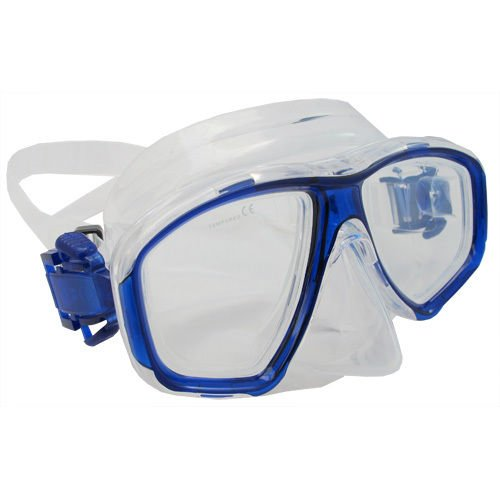 Scuba Blue Dive Mask NEARSIGHTED Prescription RX Optical Lenses