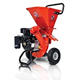 GreatCircleUSA Wood Chipper Shredder Mulcher Heavy...