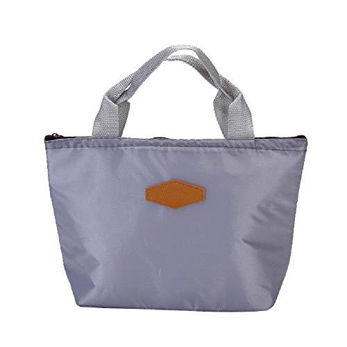 Lunch Cooler Bag, Kleine Geïsoleerde Lunch Box Zakken, Draagbare en Herbruikbare Lunch Bag voor Vrouwen Kinderen, Waterdichte voedsel Opbergdoos XS E