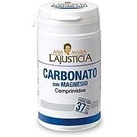 Ana Maria Lajusticia - Carbonato de magnesio – 75 comp. Disminuye el cansancio y la fatiga, mejora el funcionamiento del sistema nervioso. Apto para veganos. Envase para 37 días de tratamiento.