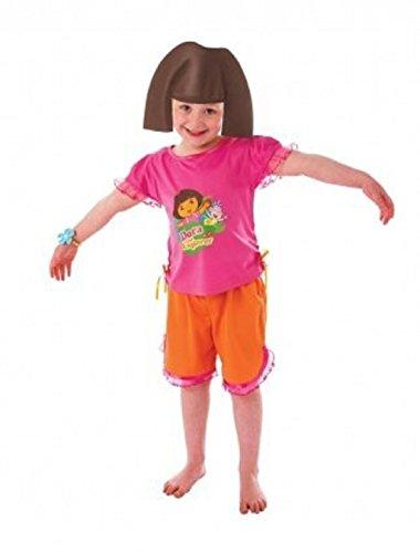 Christy`s - Disfraz de dora la exploradora para niña, talla 3-5 años (995036)