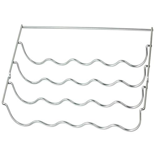 SPARES2GO Wine Bottle Rack Shelf Insert compatible with Samsung Fridge (460 x 290 x 70mm)