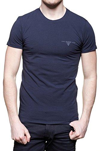 Guess - T Shirt Umpa20 - Jel20 U750 Marine - Couleur Bleu - Taille M