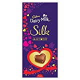 Cadbury Dairy Milk Silk Valentine's Heart Pop Bar, 250g- Pack of 2