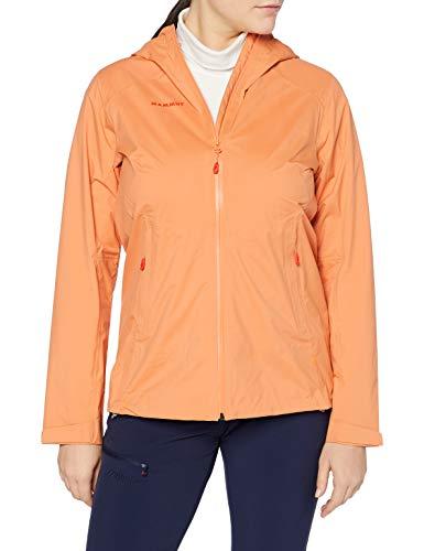 Mammut Damen Hardshell-jacke Albula Hooded, orange, L*