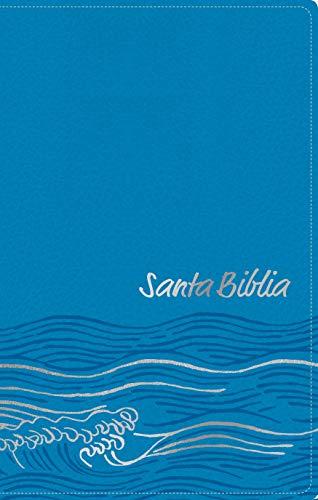 Santa Biblia NTV, Edicion ziper, Oceano (SentiPiel, Azul cla