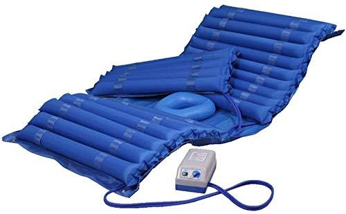 WKDZ Wechselnde Druckmatratze Medizinische Luftmatratze mit aufblasbarem Pad & Electric Pumpensystem für Geschwüre Bedsorung Präventions- und Druckrückbehandlung Körperpositionierer 1218