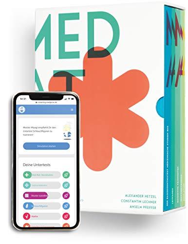 MedAT 2020 / 2021 I Erfolgspaket I Paket aus umfangreichem MedAT Kompendium inklusive komplettem E-Learning Zugang I Vorbereitungs-Box für den Medizinaufnahmetest in Österreich