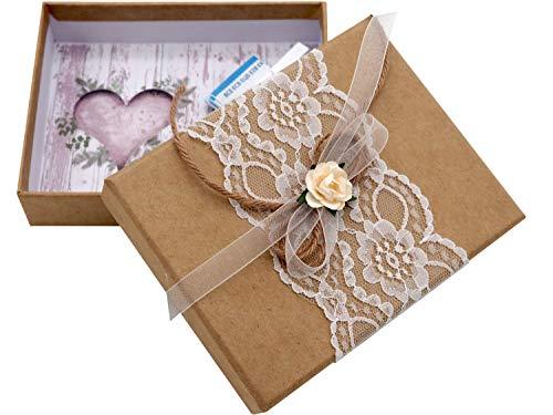 ZauberDeko Geldgeschenk Verpackung Geldverpackung Natur Vintage Hochzeit Urlaub
