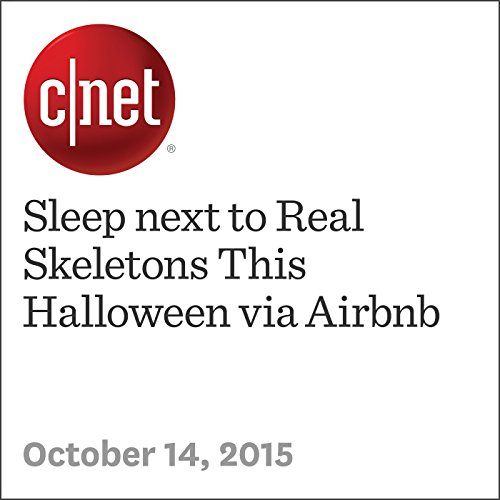 Sleep next to Real Skeletons This Halloween via Airbnb audiobook cover art