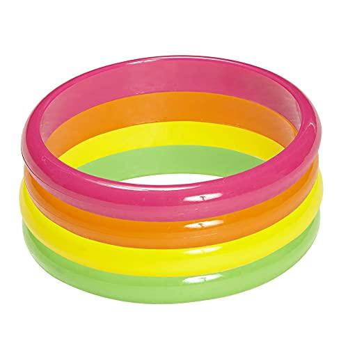 Widmann 05845 - Armbänder, 4er Set, One Size, neonfarbe