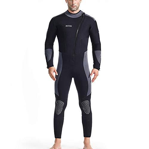 HJFGIRL Trajes De Neopreno De 5 Mm Traje De Buceo De Cuerpo Completo De Neopreno Ultraelástico Premium para Pesca Submarina Snorkel Surf Piragüismo Buceo,A-Small