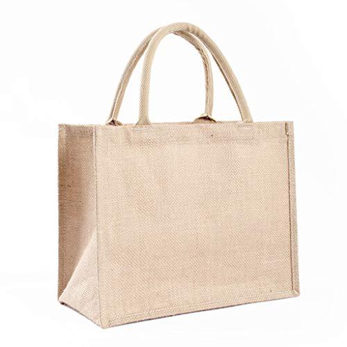 Wuli77 Bolsa de compra reutilizable, respetuosa con el medio ambiente, portátil, organizador de comestibles, bolsa de almacenamiento para vacaciones, eventos de Navidad, fiestas al aire libre
