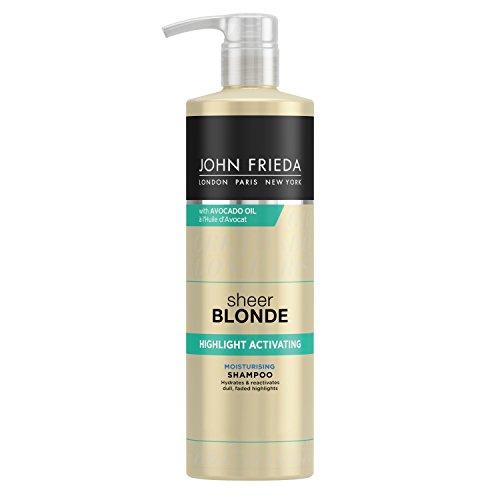 John Frieda Sheer Blonde Highlight Aktivierendes feuchtigkeitsspendendes Shampoo, 500ml
