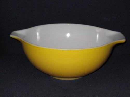 Vintage 1950's Large 2 1/2 Quart Orange-Yellow Cinderella Pyrex Mixing Batter Nesting Bowl #443
