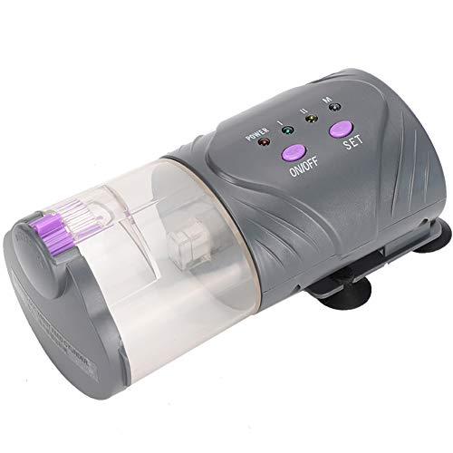 Alinory Dispensador de Comida para Peces, alimentador automático de Peces, plástico Duradero para alimentador de Peces, pecera