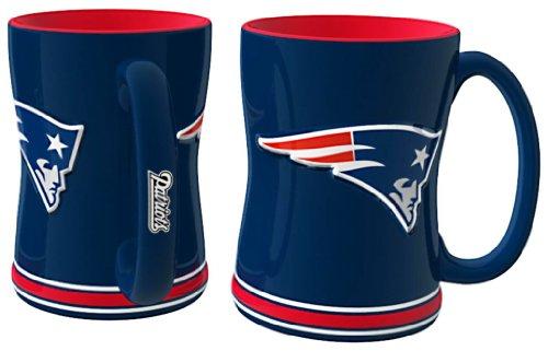 NFL New England Patriots Relief Sculpted Mug